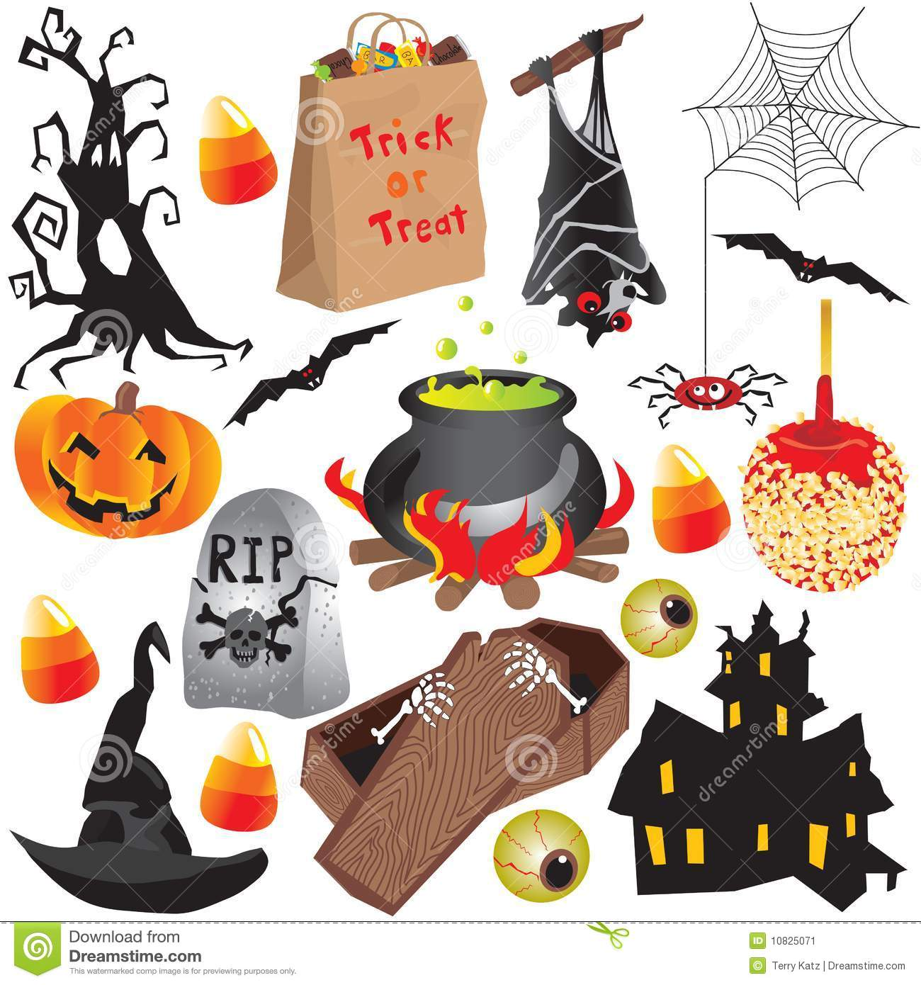 Free Clip Art Candy Bag