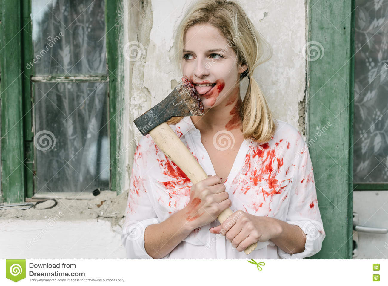 halloween concept creepy stock image halloween costume