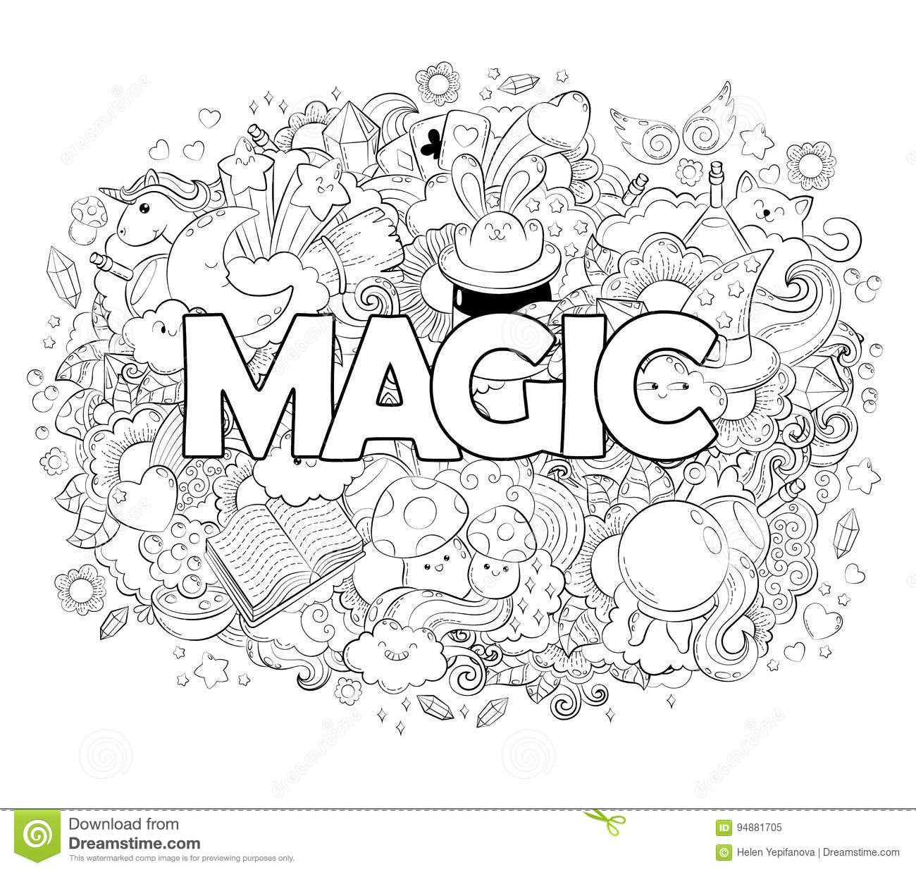 coloring pages of magic tricks - photo#14