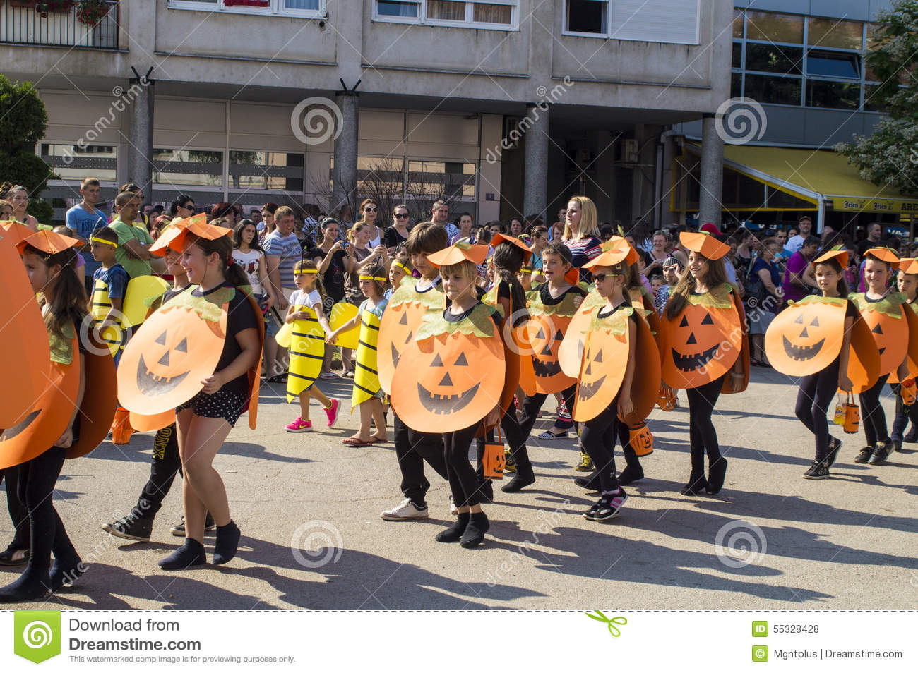 Halloween Costumes At The Masked Ball Editorial Stock Photo ...