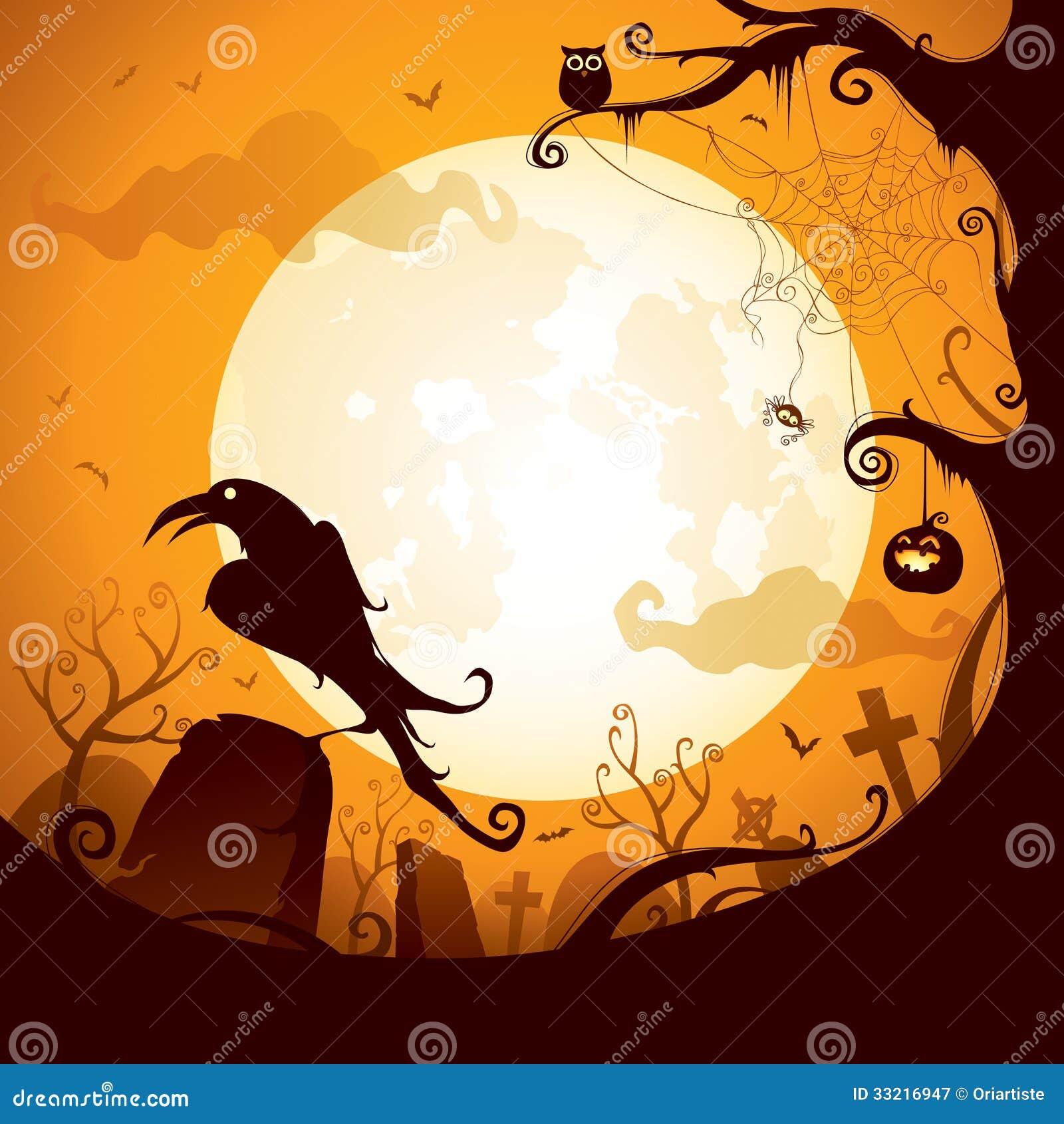 halloween scene clipart - photo #42