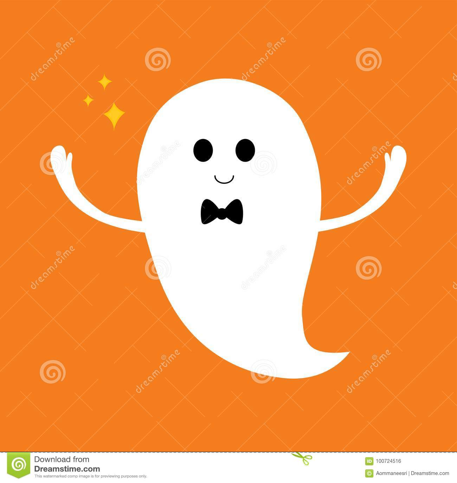 Halloween Ghost Cute Cartoon Stock Images - Download 277 ...
