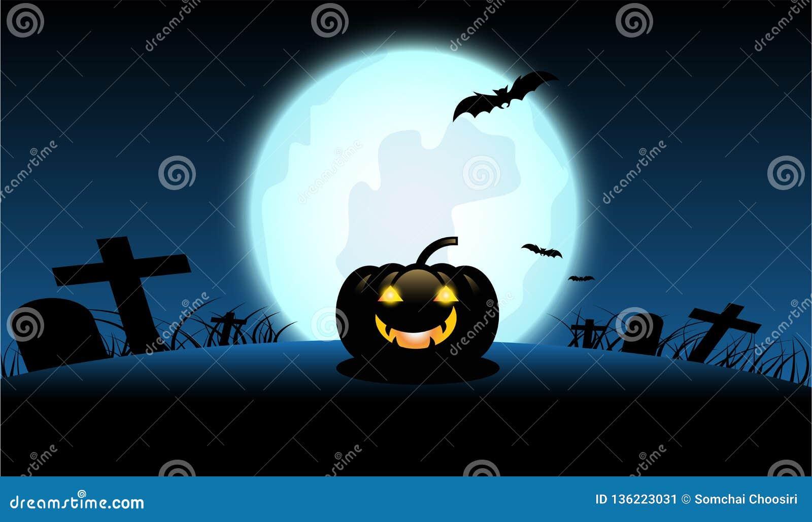 Halloween-Dagachtergrond