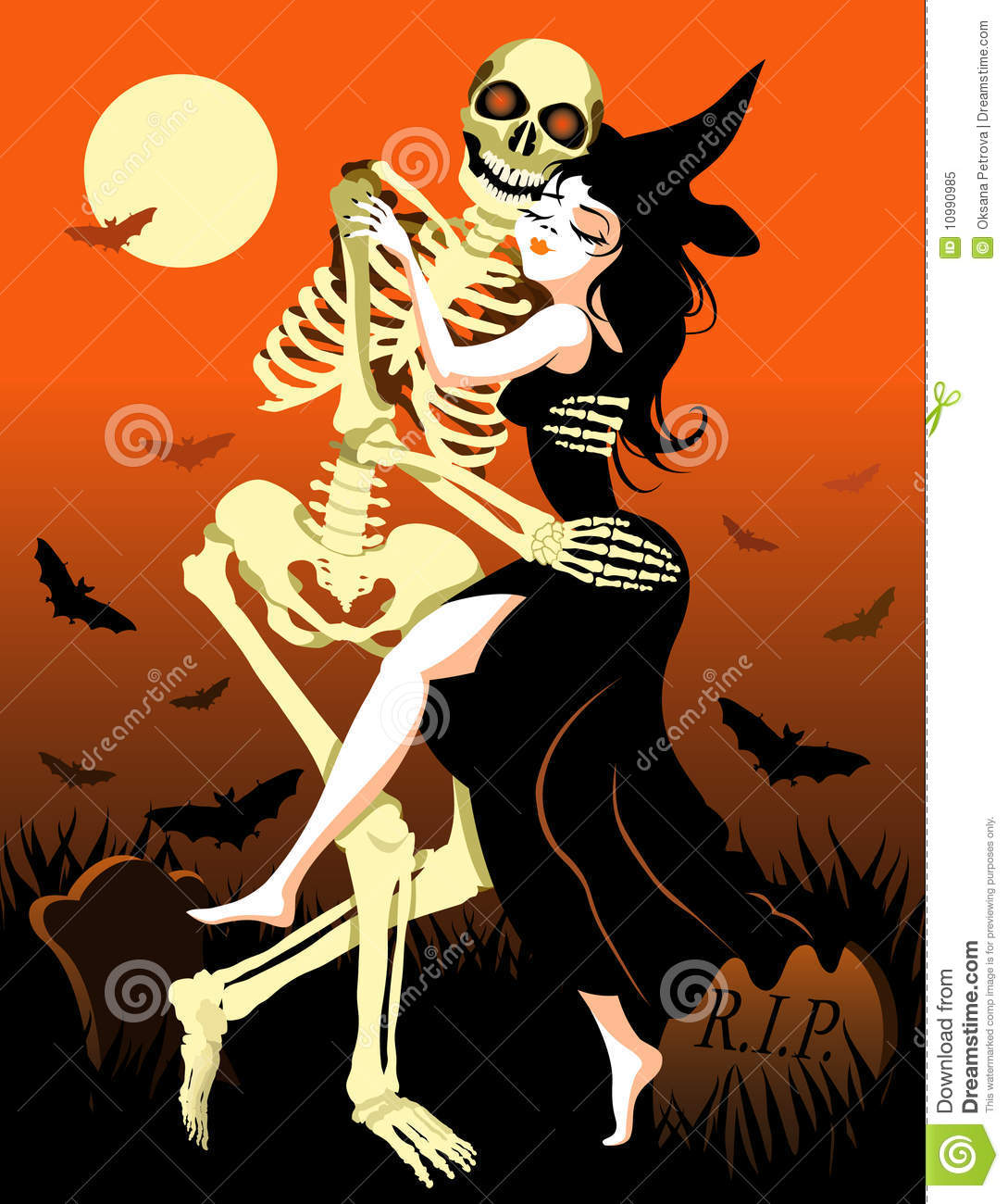 Halloween Dance Royalty Free Stock Photo - Image: 10990985