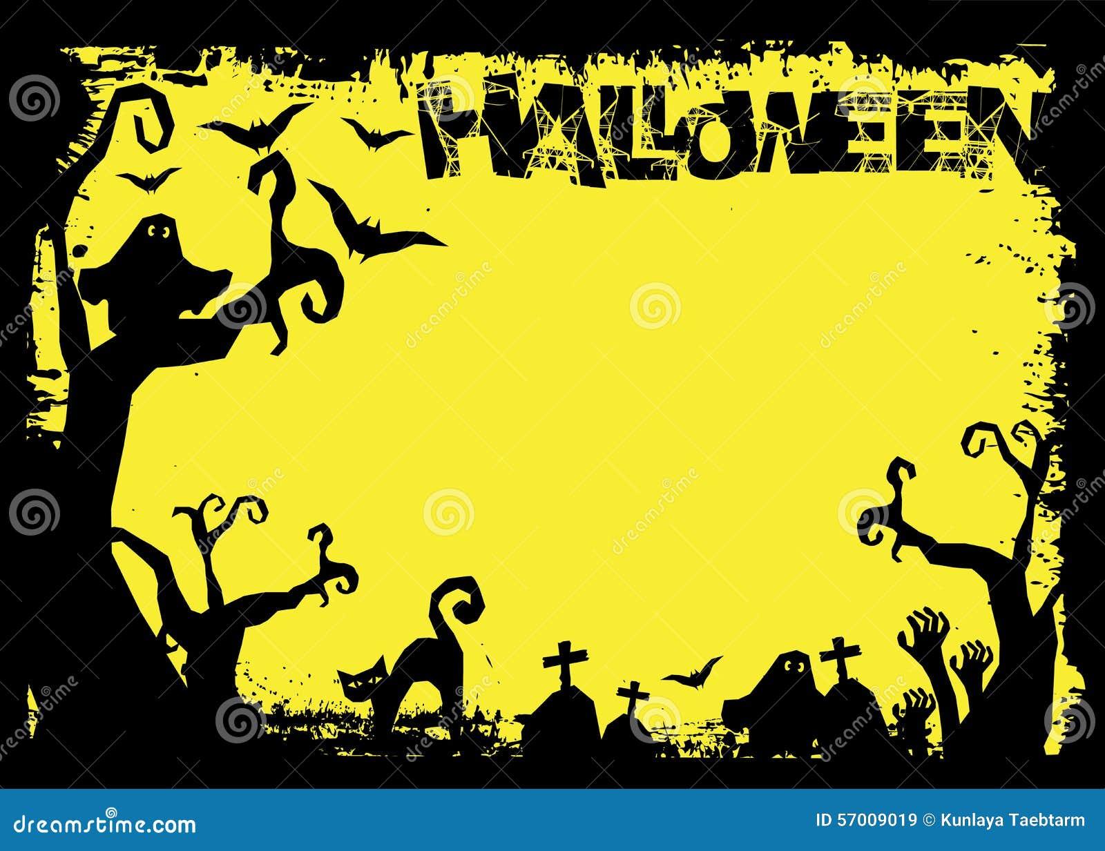 Halloween Day. Black Bat And Pumpkin Ghost Cartoon Vector ...