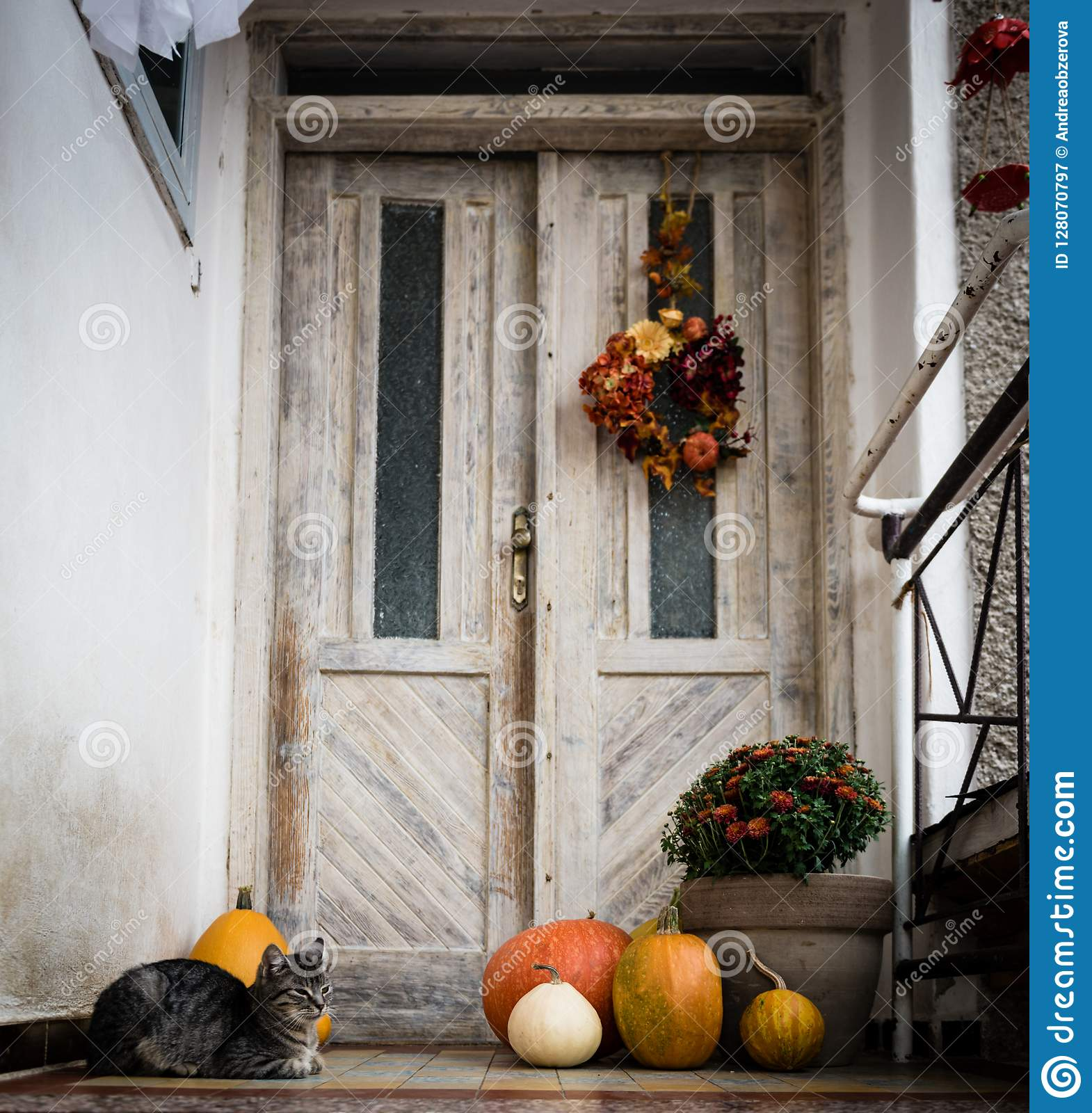 1 613 Halloween Porch s Free & Royalty Free Stock