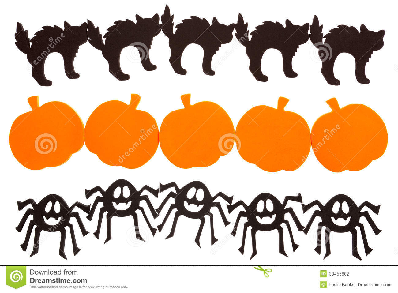 Halloween Decorations Stock Illustration Illustration Of