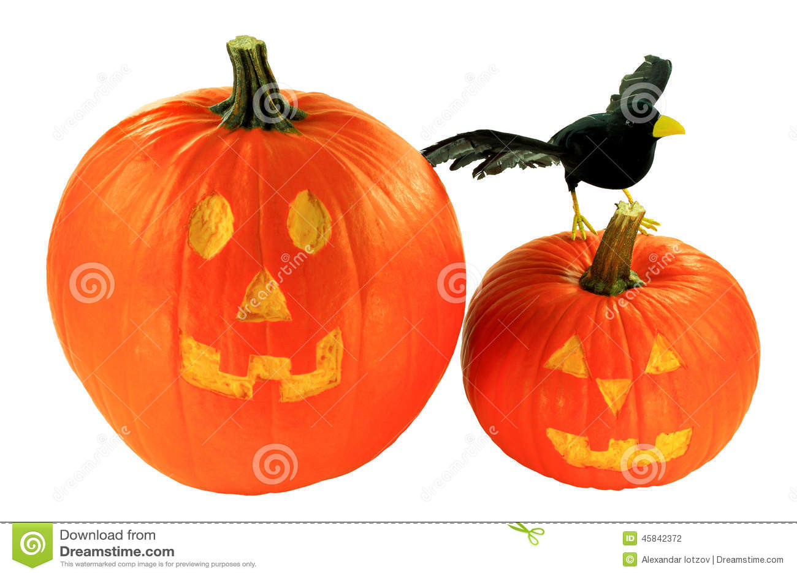 halloween dekoration ber wei em hintergrund stockfoto. Black Bedroom Furniture Sets. Home Design Ideas