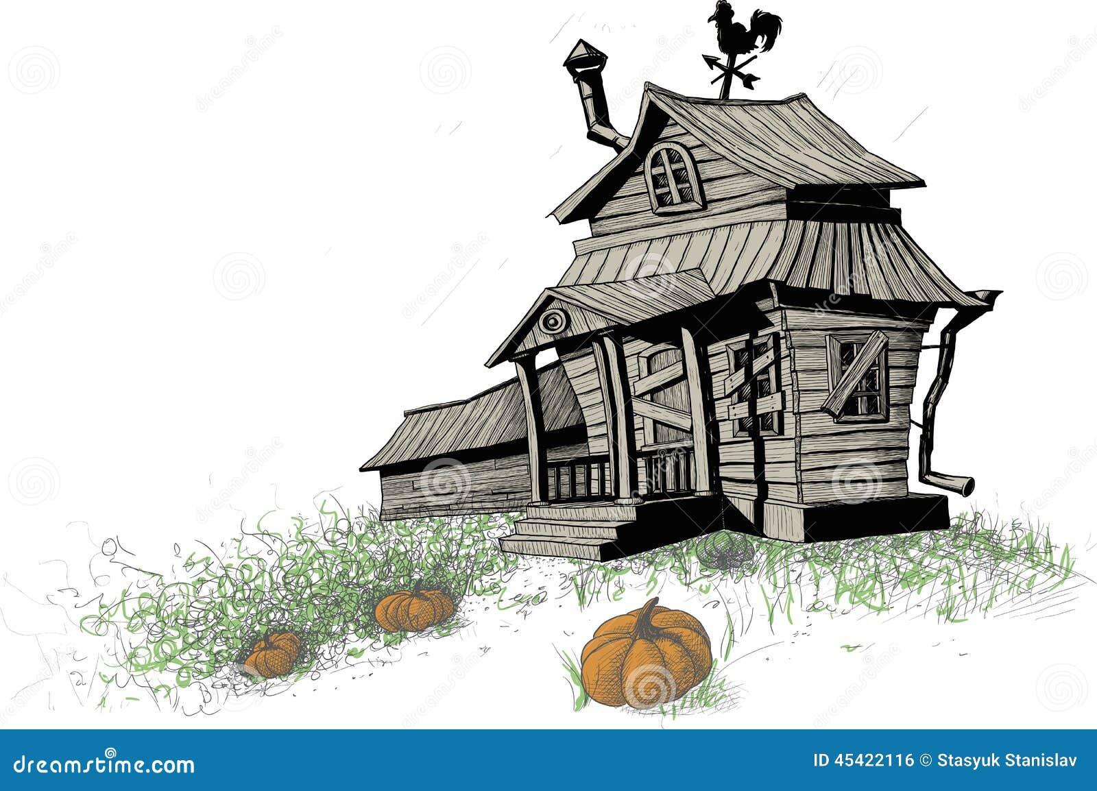 Halloween domu kolor
