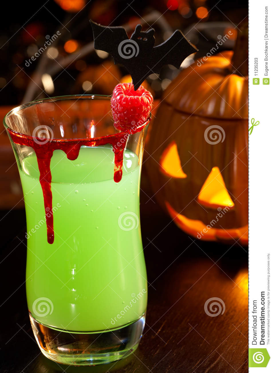 Halloween Drinks Devil S Blood Cocktail Stock Photos