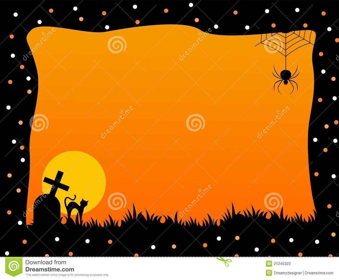 Collection of halloween graphics frames backgrounds photos halloween frame stock photography jeuxipadfo Choice Image
