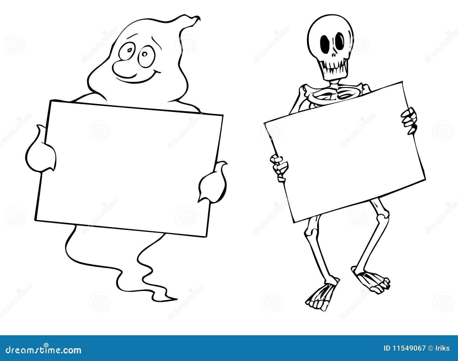 Halloween frames stock illustration. Illustration of background ...
