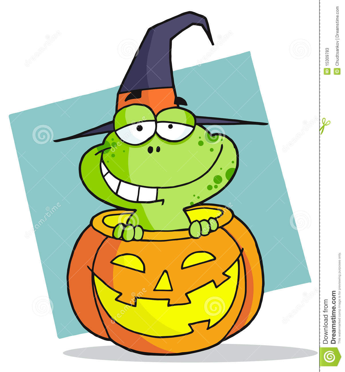 Halloween Frog Stock Photos Image 15309783