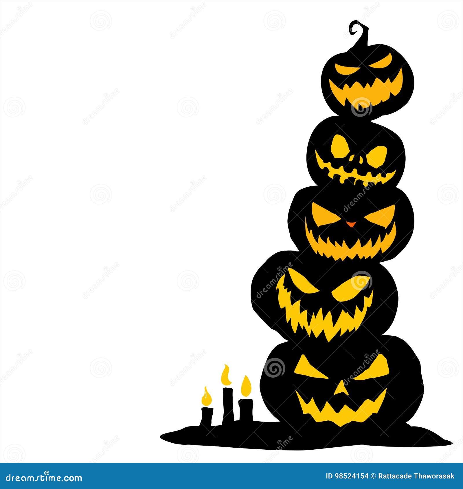 Halloween graphic resource background