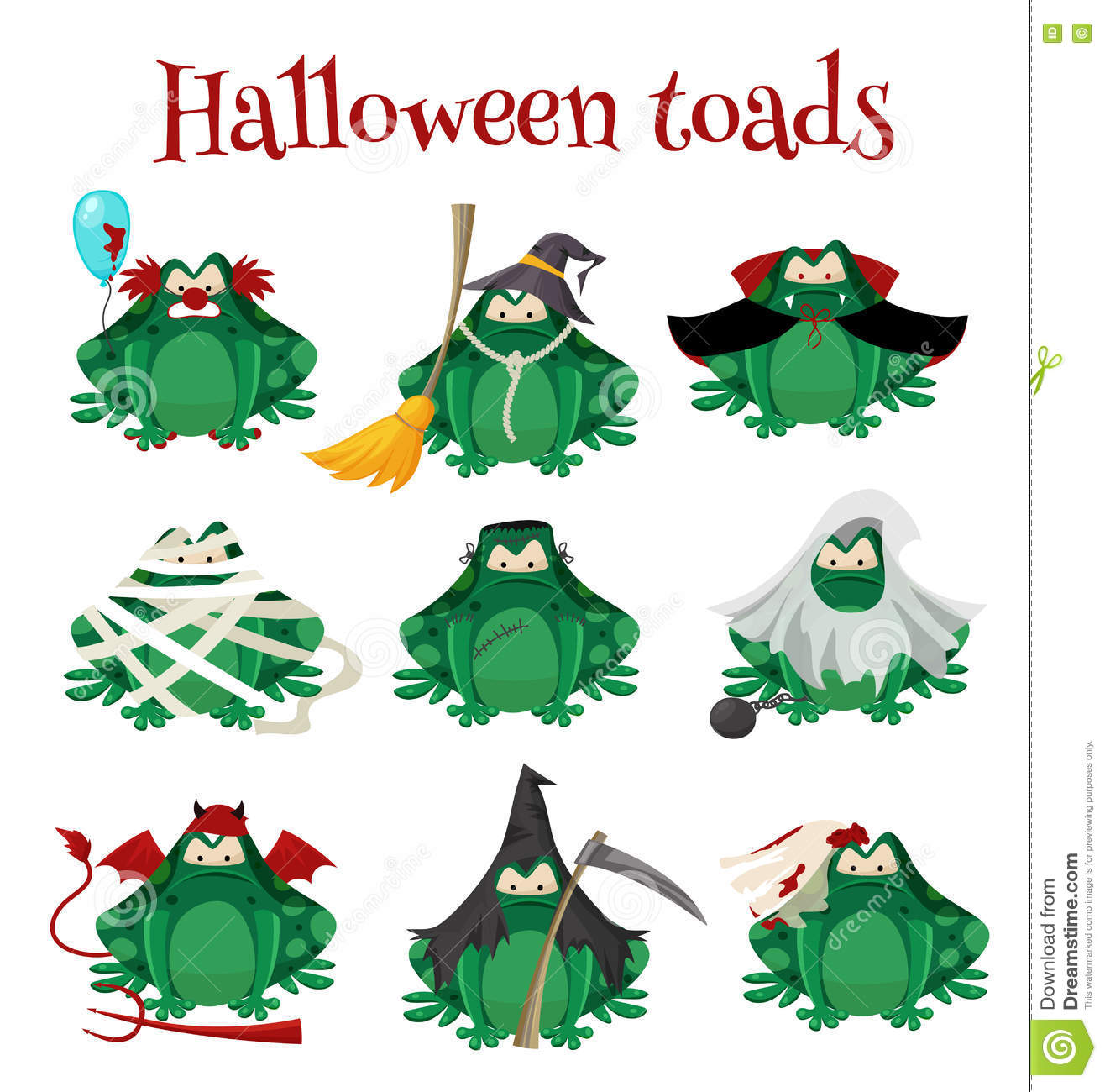 frogs or toads cartoon characters vector illustration cartoondealer com 24397744 Cute Frog Silhouette Cute Frog Silhouette