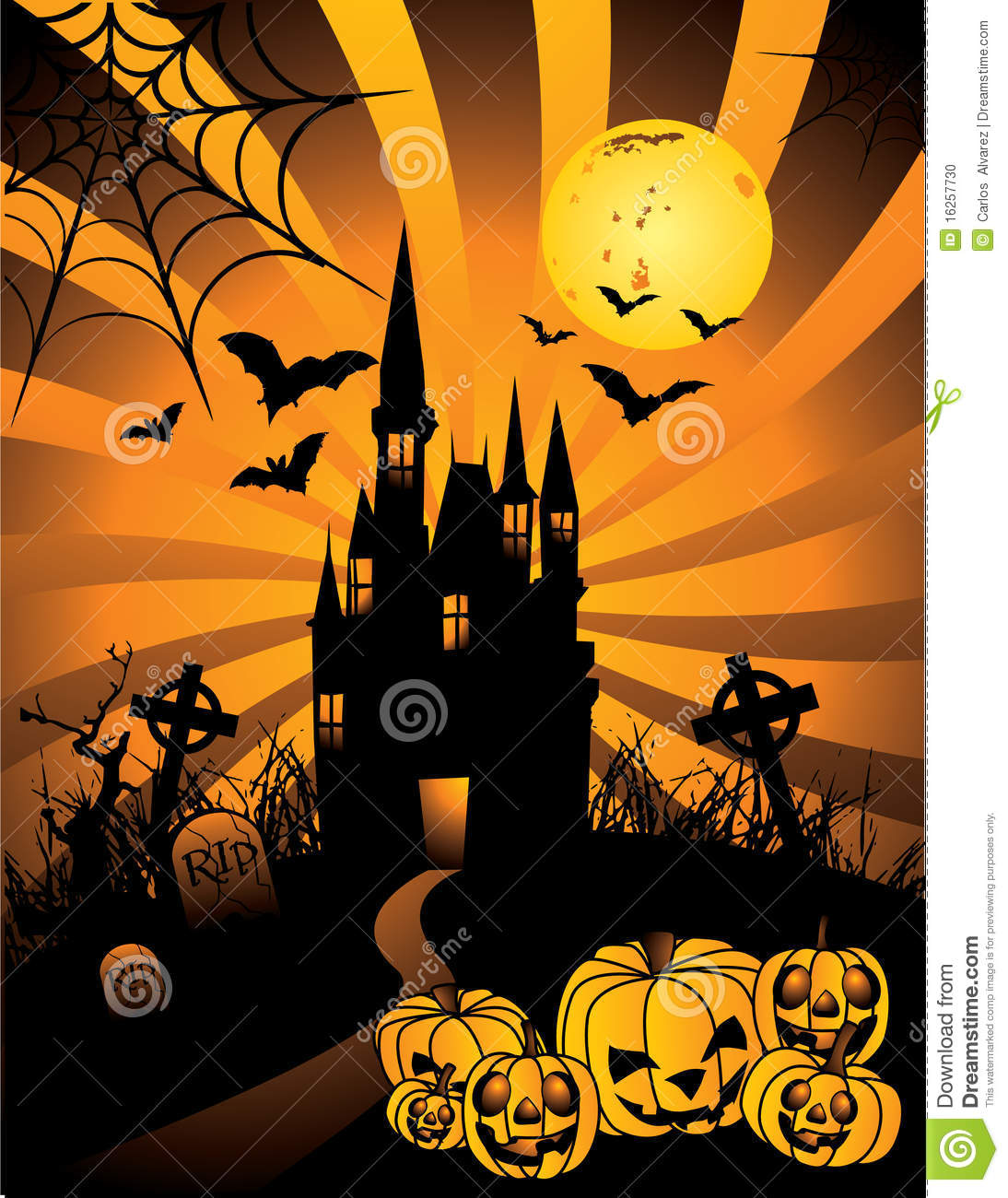 halloween haunted castle vector stock illustration illustration of halloween  illustration haunted tree clipart haunted house clip art free