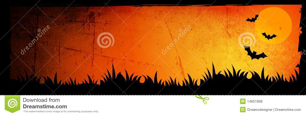 Halloween Header / Background Royalty Free Stock Photos - Image ...