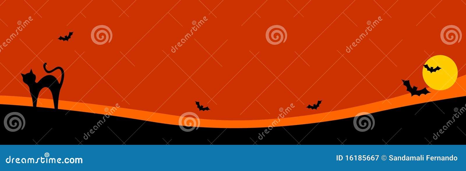 Halloween header / background