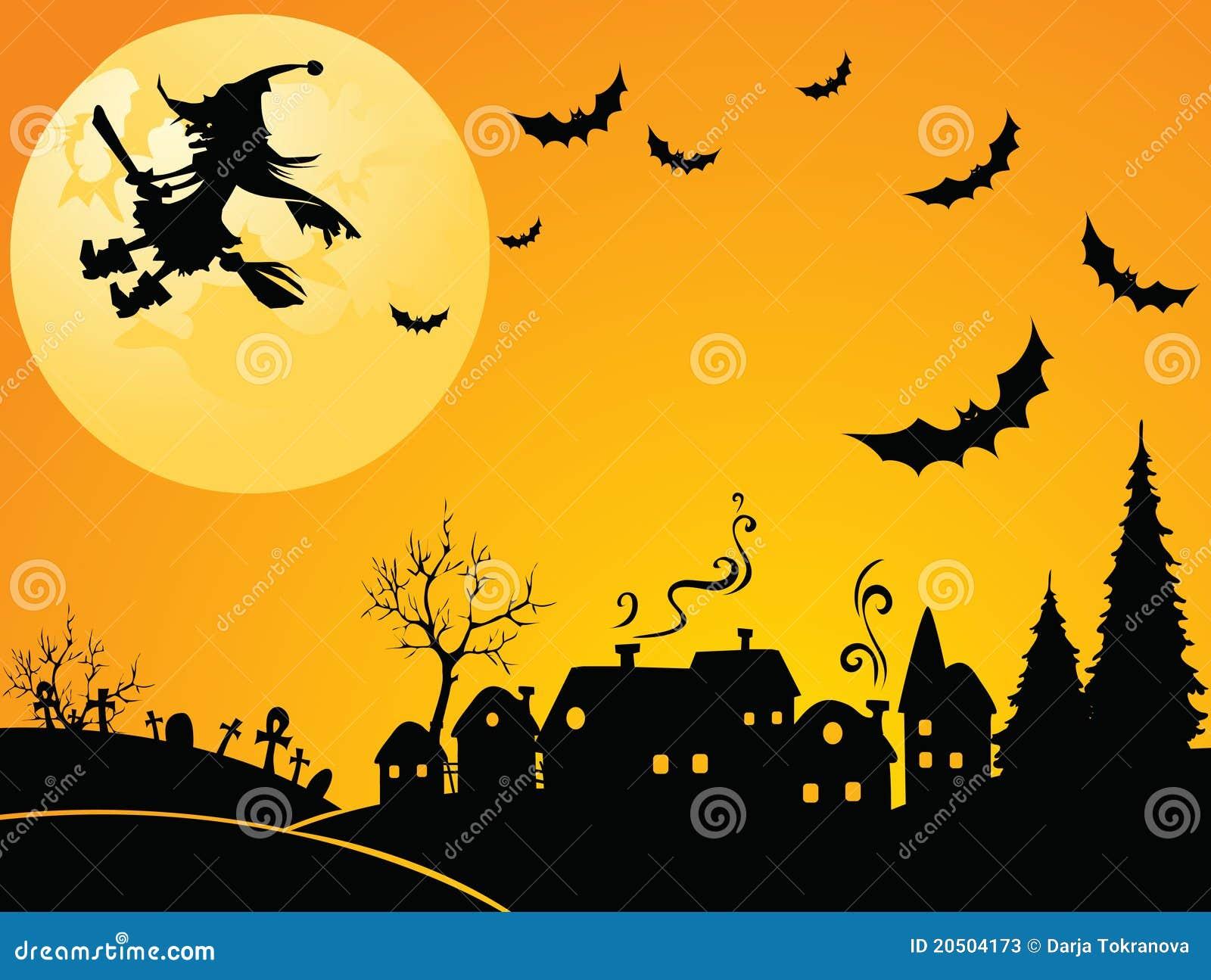 halloween hexe stockfotos bild 20504173. Black Bedroom Furniture Sets. Home Design Ideas