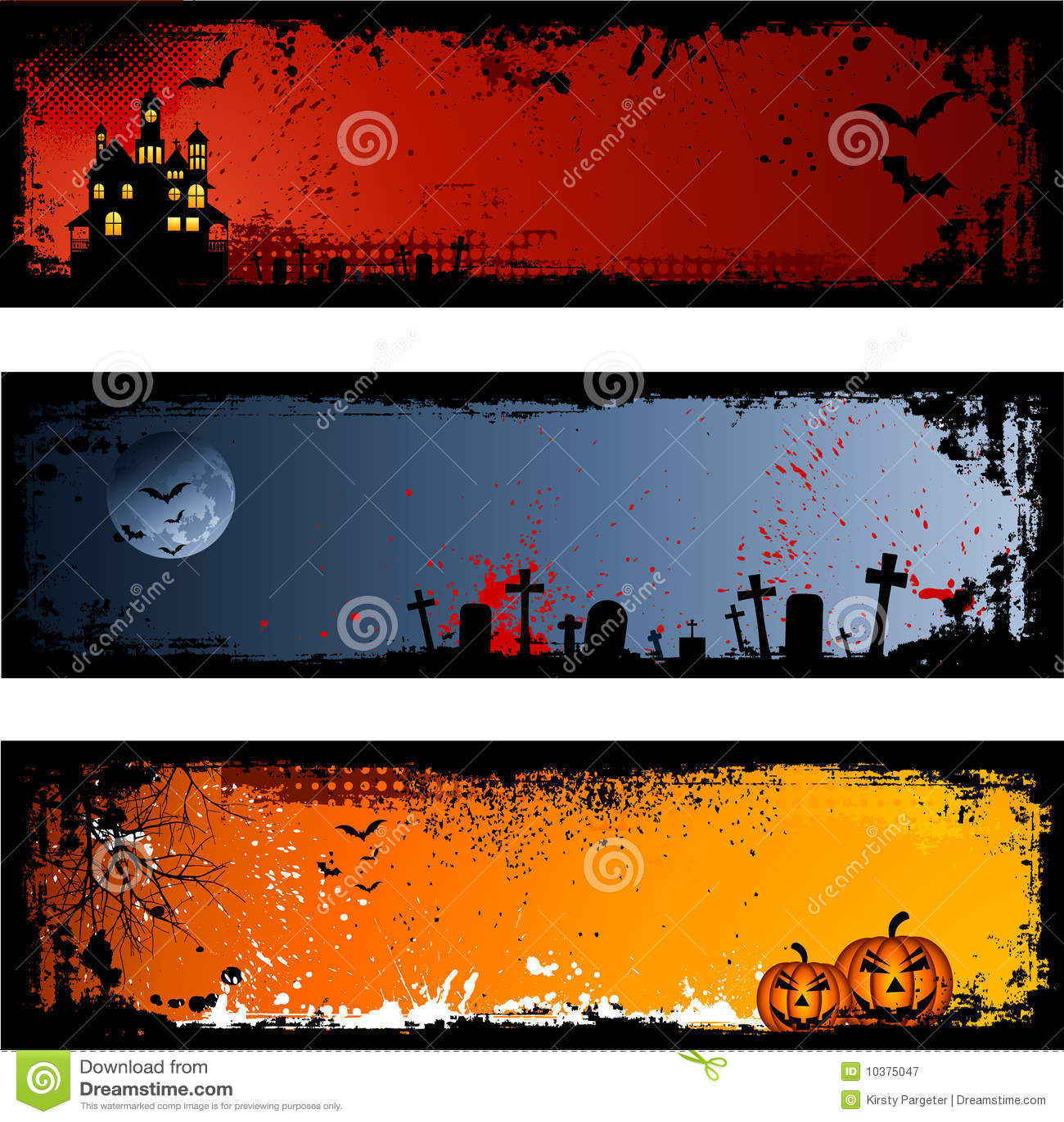 Halloween-Hintergründe