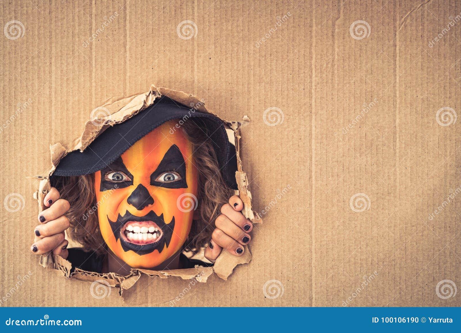 Halloween-Kürbis Autumn Holiday Concept