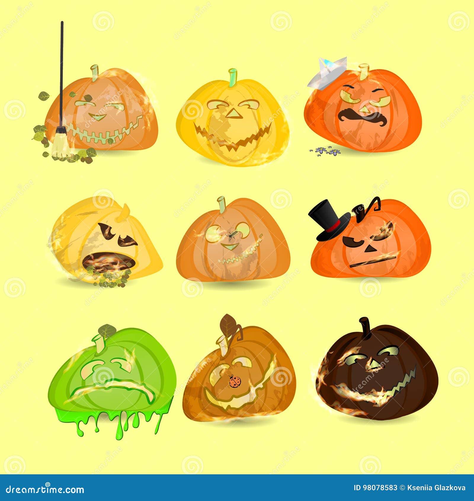 Halloween Kolekcja Banie Set