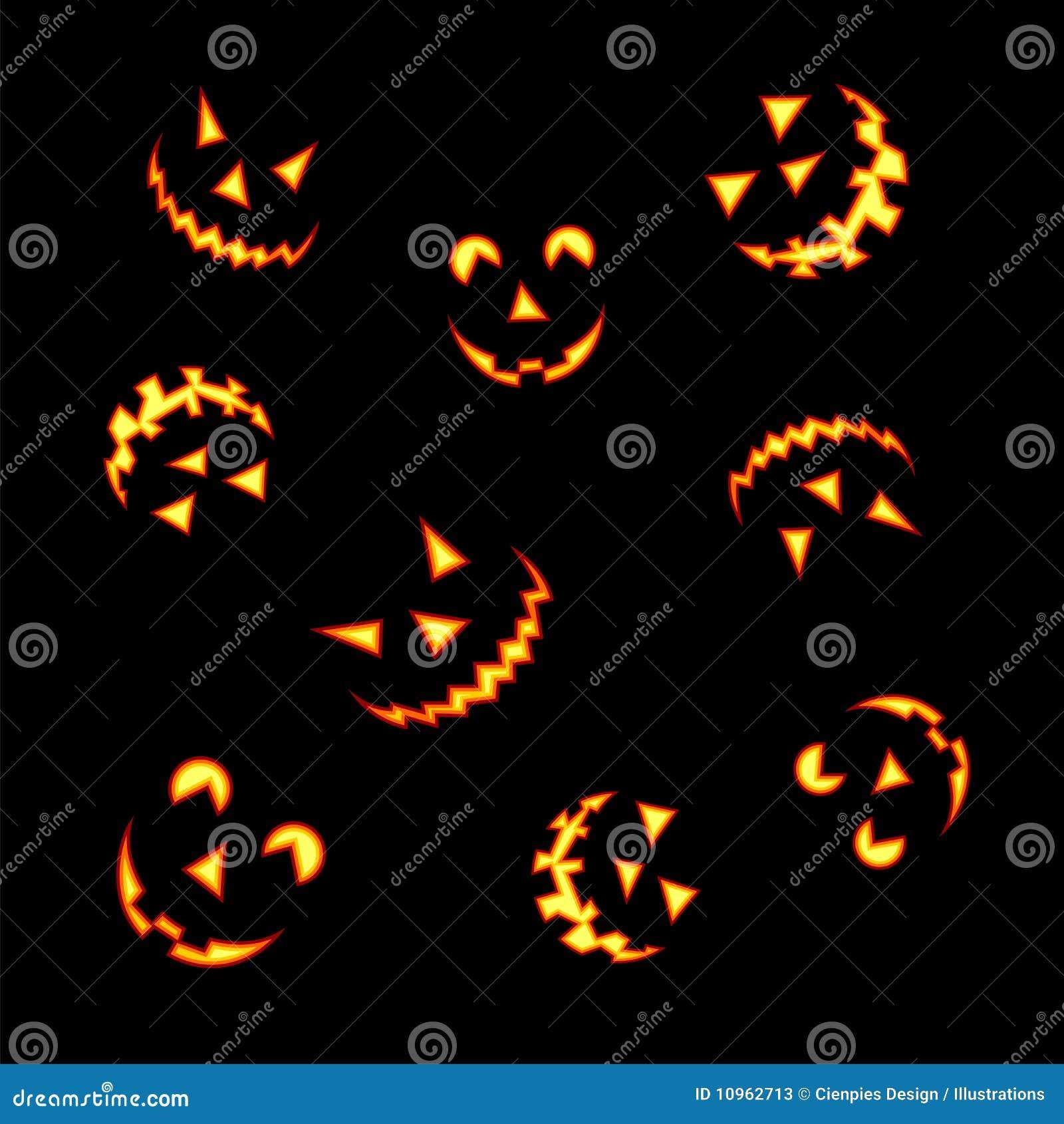 halloween k rbisgesichter stockfotos bild 10962713. Black Bedroom Furniture Sets. Home Design Ideas