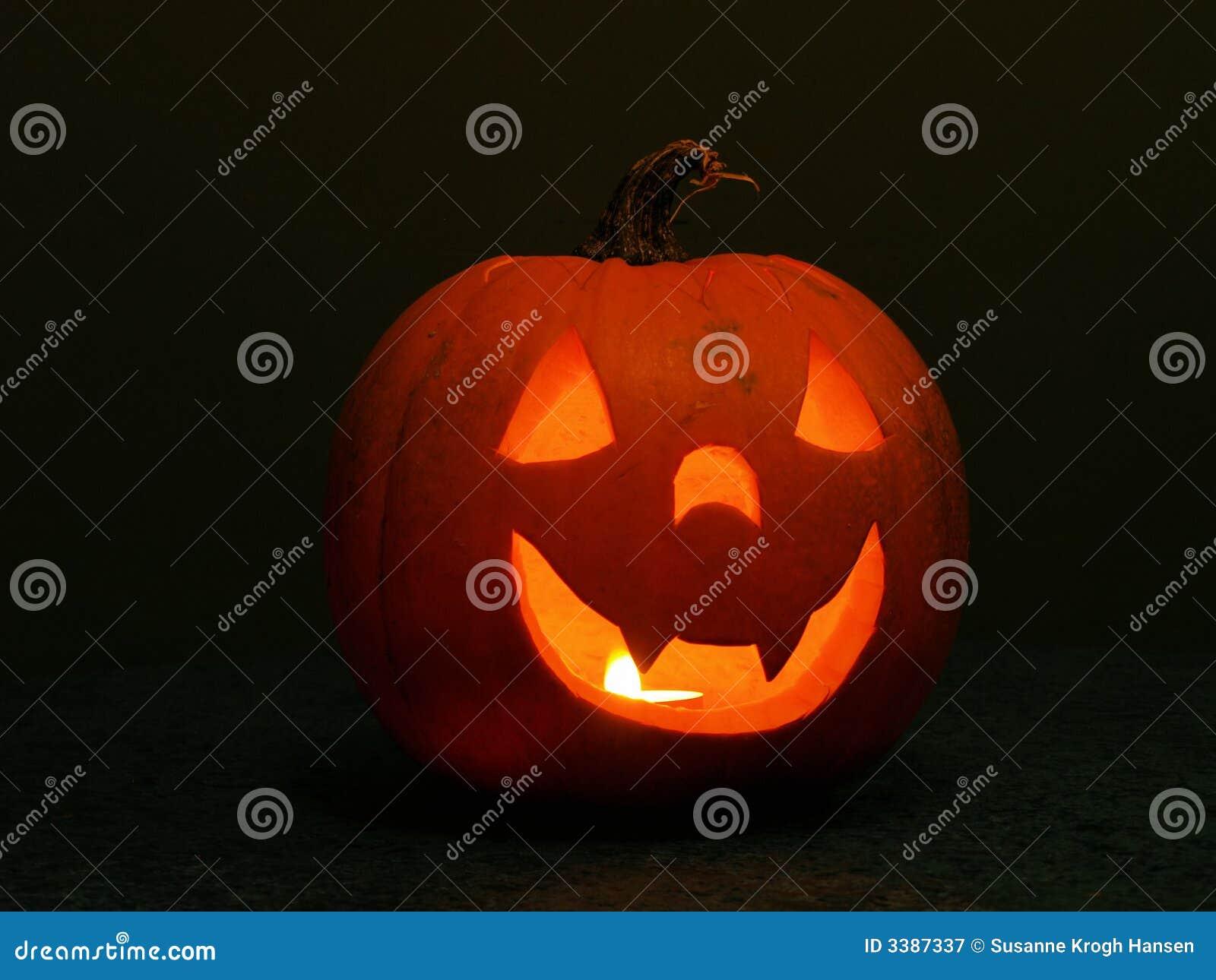 Halloween lampionu pączuszku