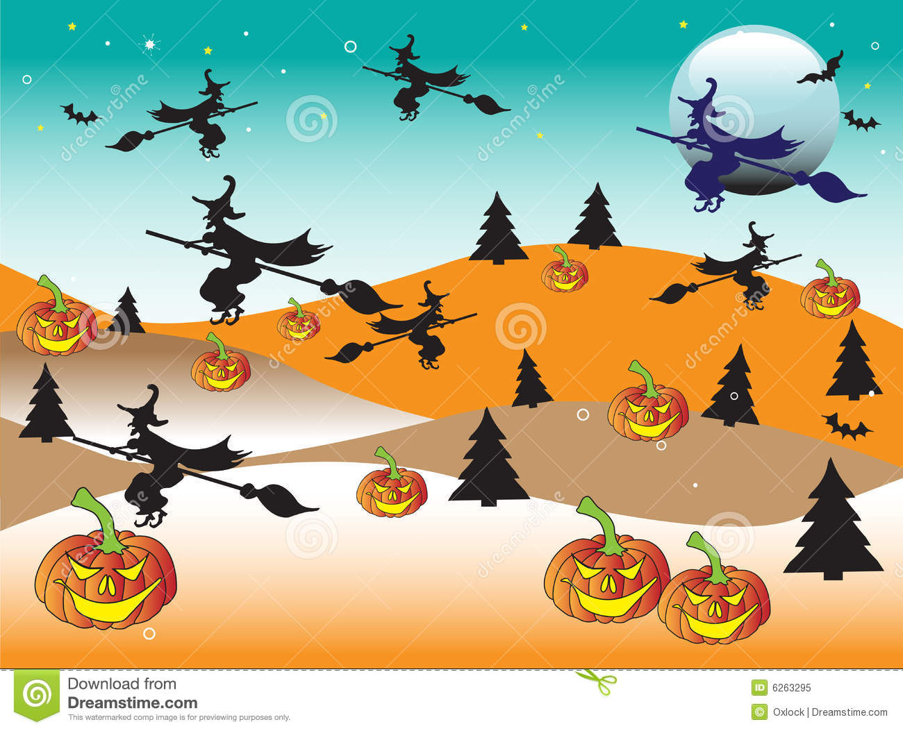 Halloween Land Royalty Free Stock Photo - Image: 6263295