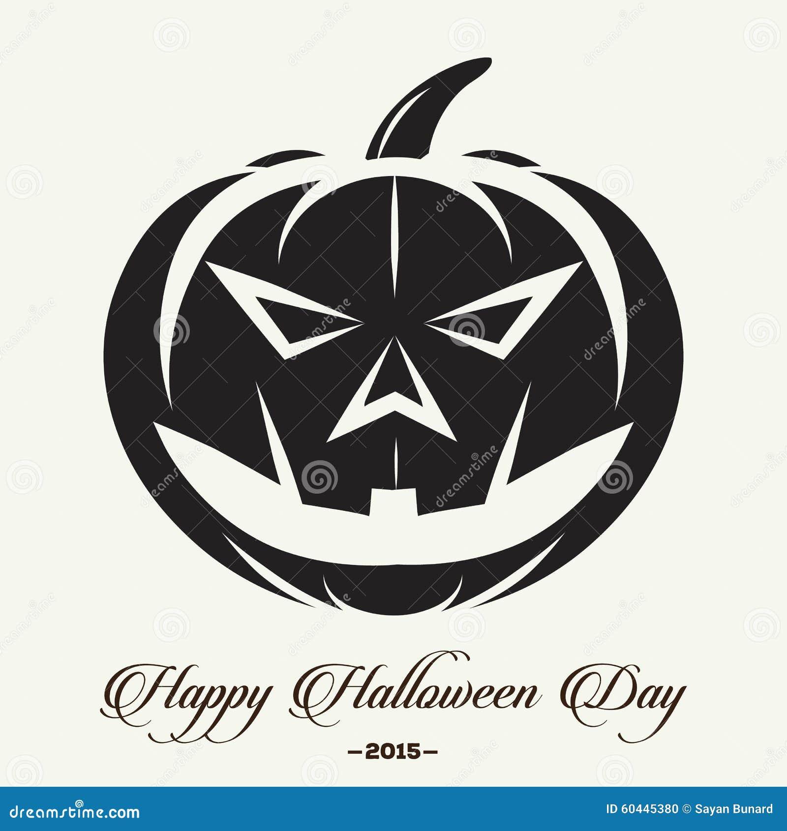 Halloween LOGO stock illustration. Image of evil, witch - 60445380