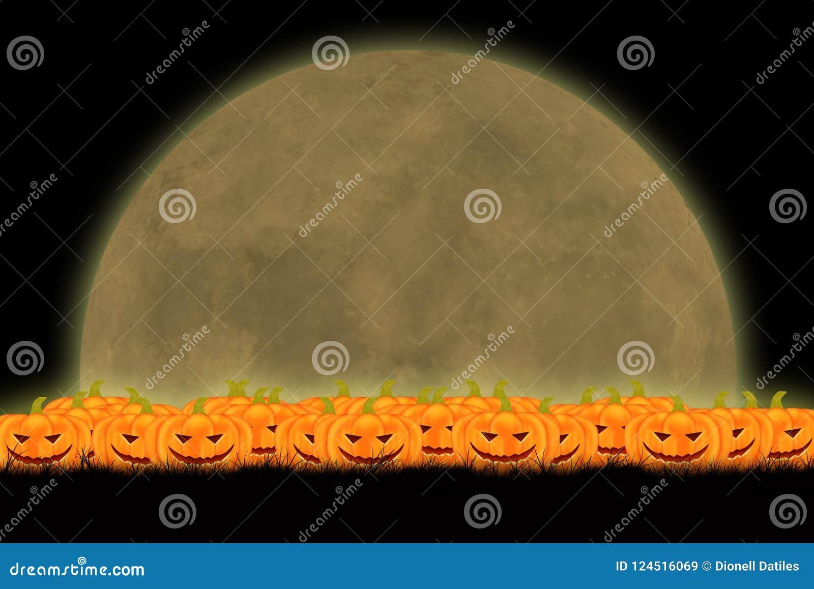 Halloween-malplaatjeontwerp met ruimte voor tekst of bericht