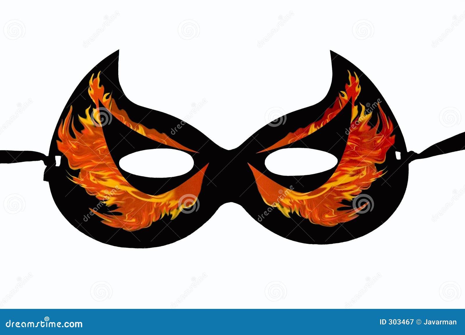 Halloween maska