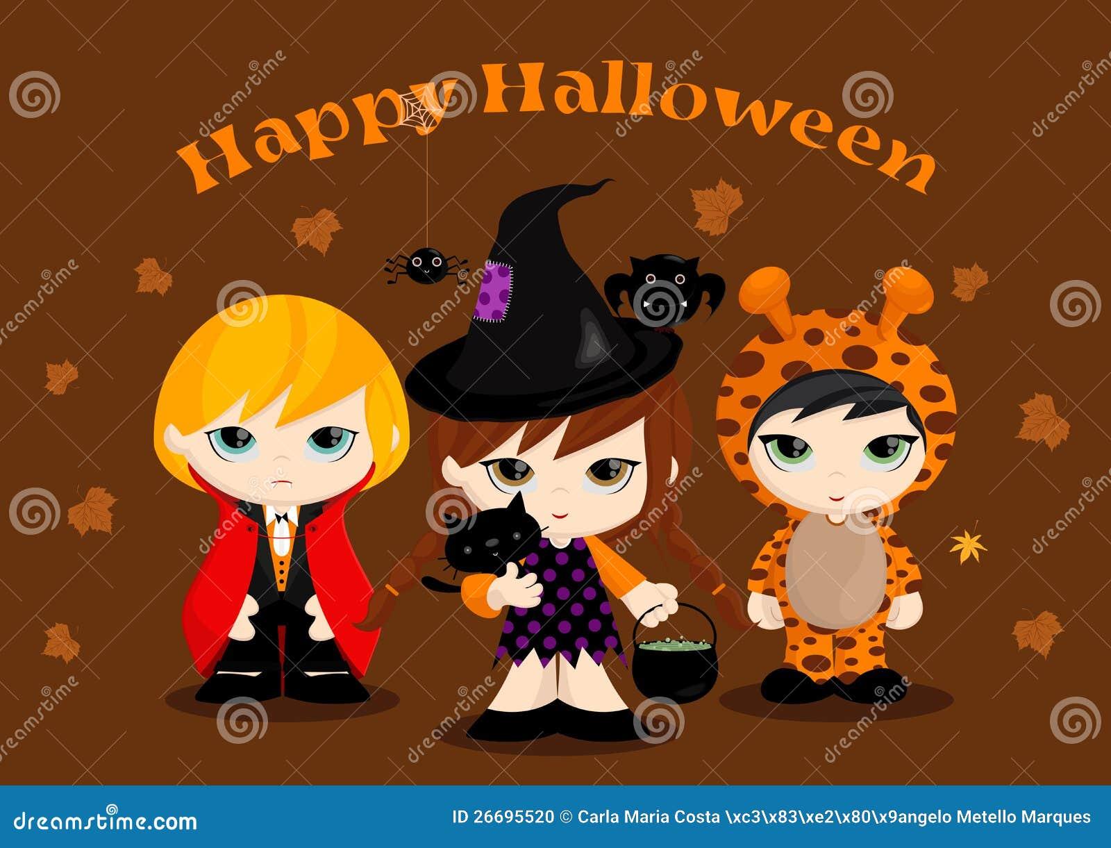 Halloween-Maskottchen