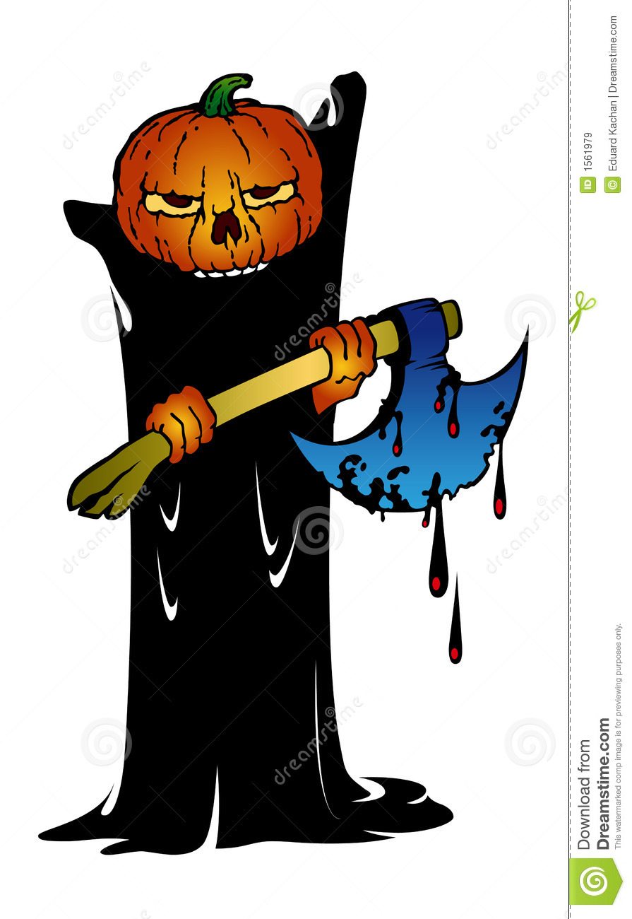 Halloween Monster Royalty Free Stock Images - Image: 1561979