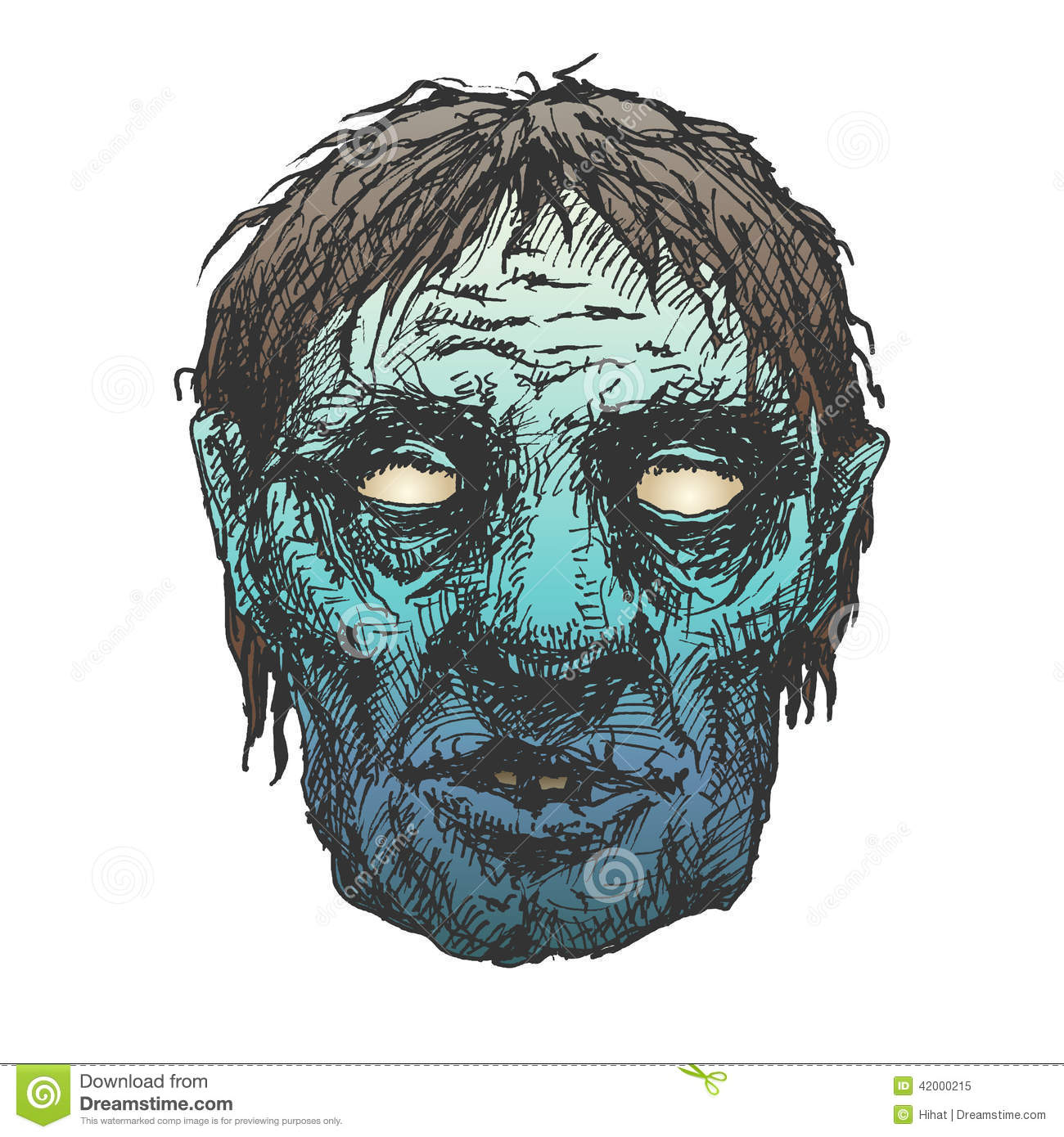 Halloween monster mask drawing stock illustration image 42000215 royalty free illustration ccuart Image collections