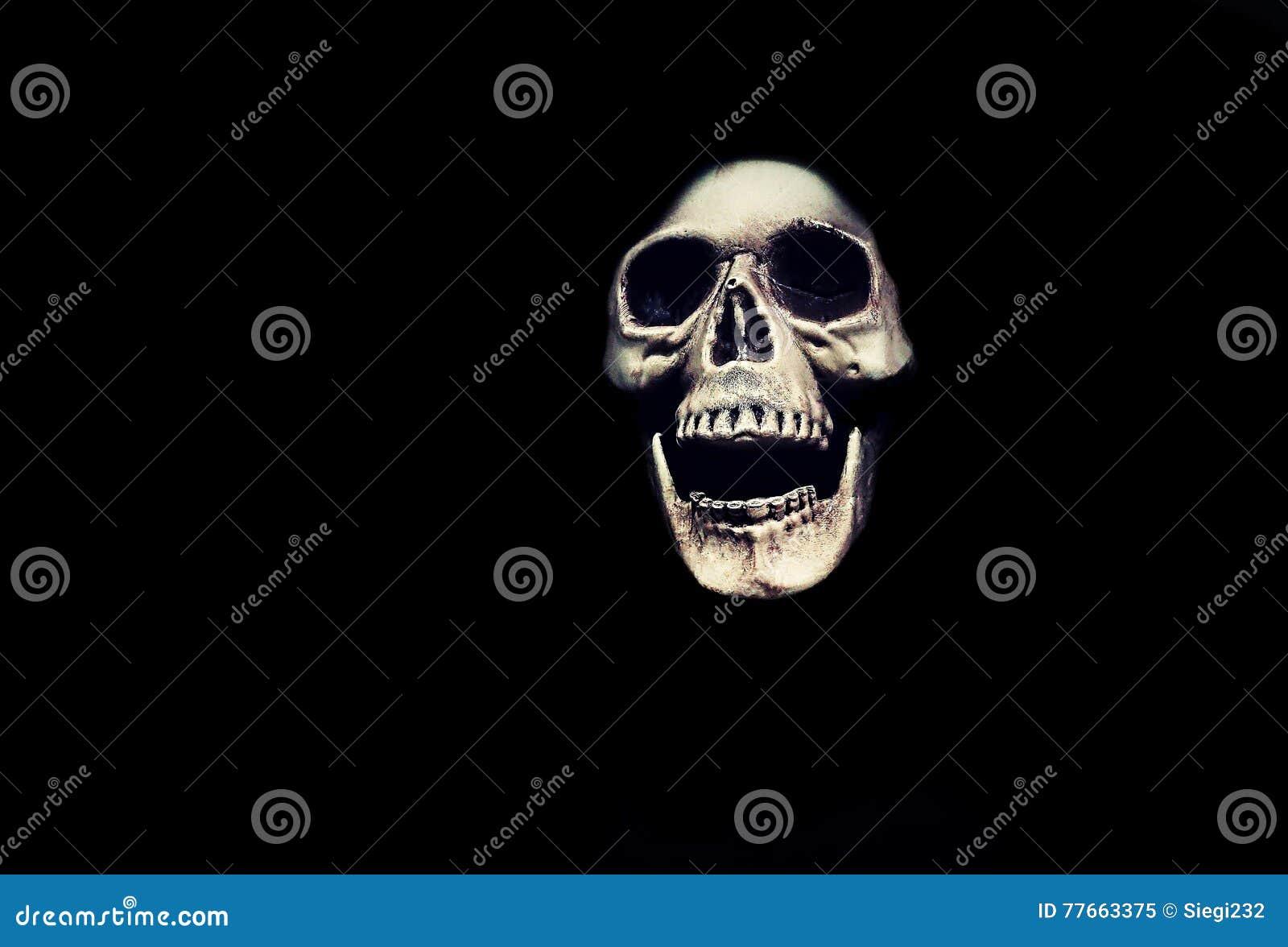 Halloween Monster Skull