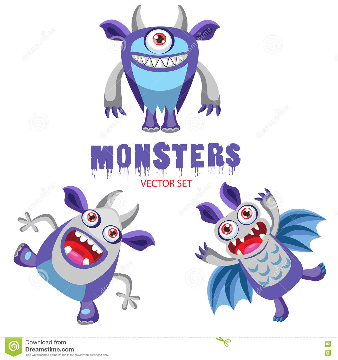 halloween monsters. colorful monsters for kids. halloween costume