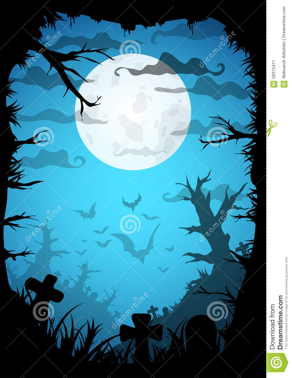 halloween stock vector image 58375411 cemetery clip art free cemetery clean up clipart