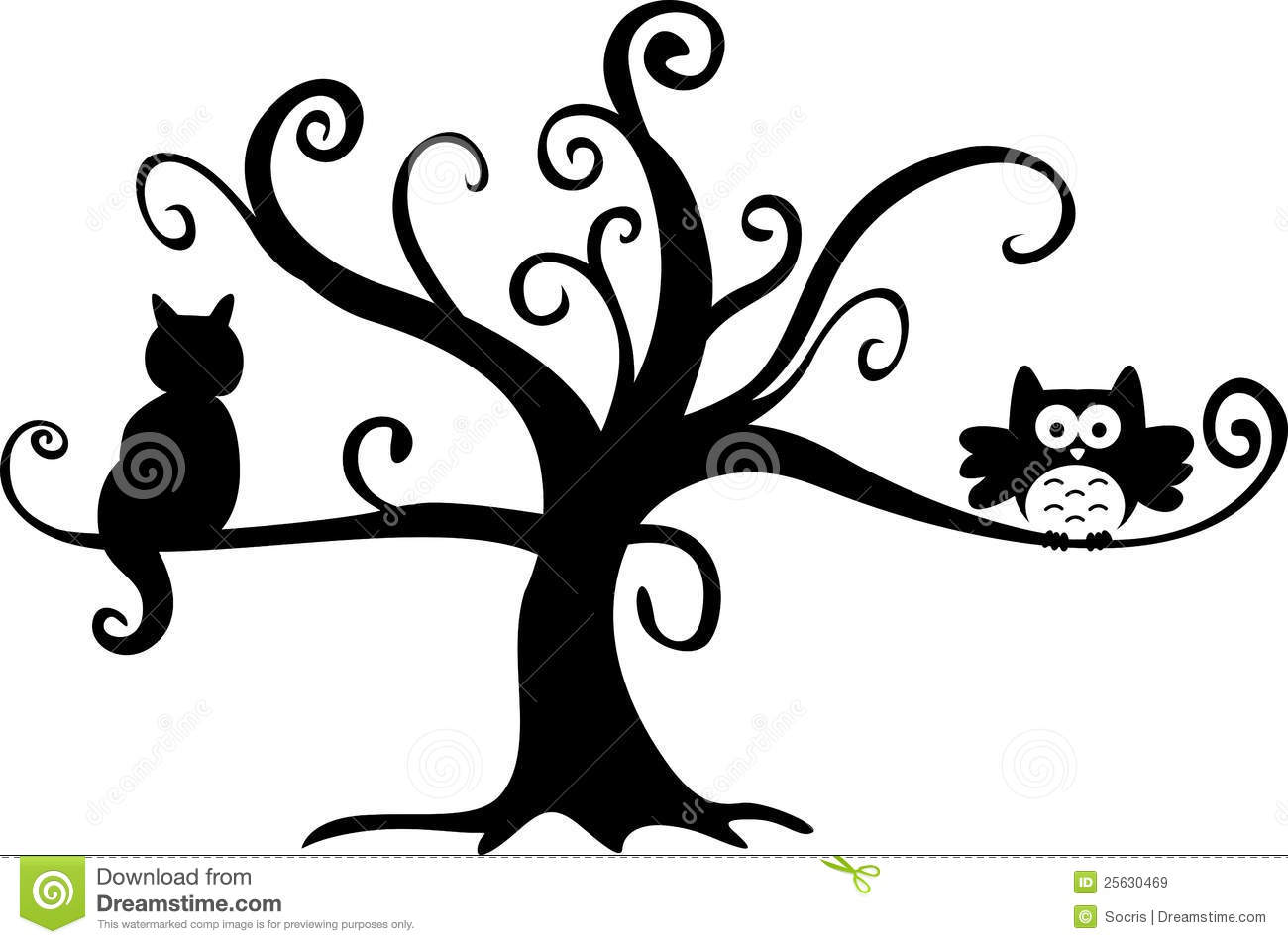 How To Draw A Spooky Halloween Tree Apps Directories