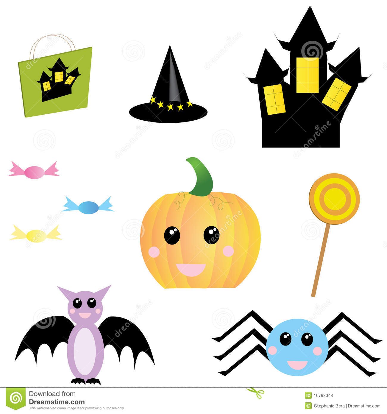 halloween objects stock images image 10763044 cute pumpkin clipart black and white cute pumpkin clip art black and white