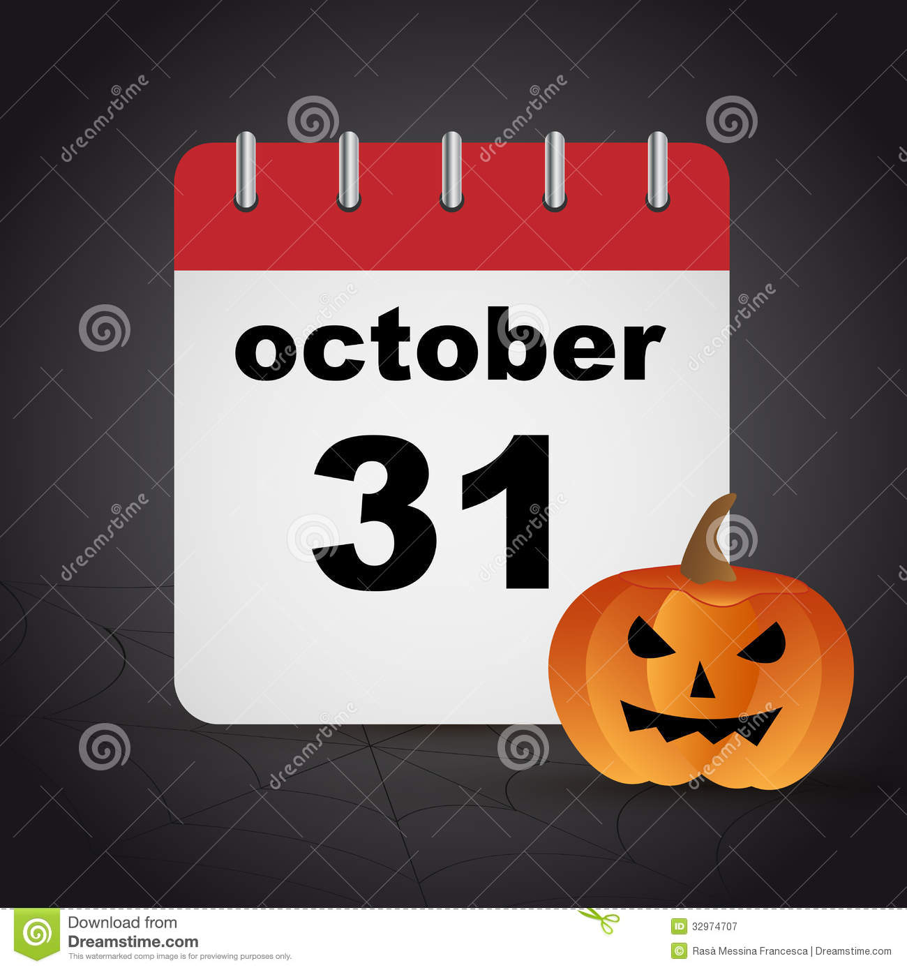 Halloween  October 31 Royalty Free Stock Photography - October Halloween