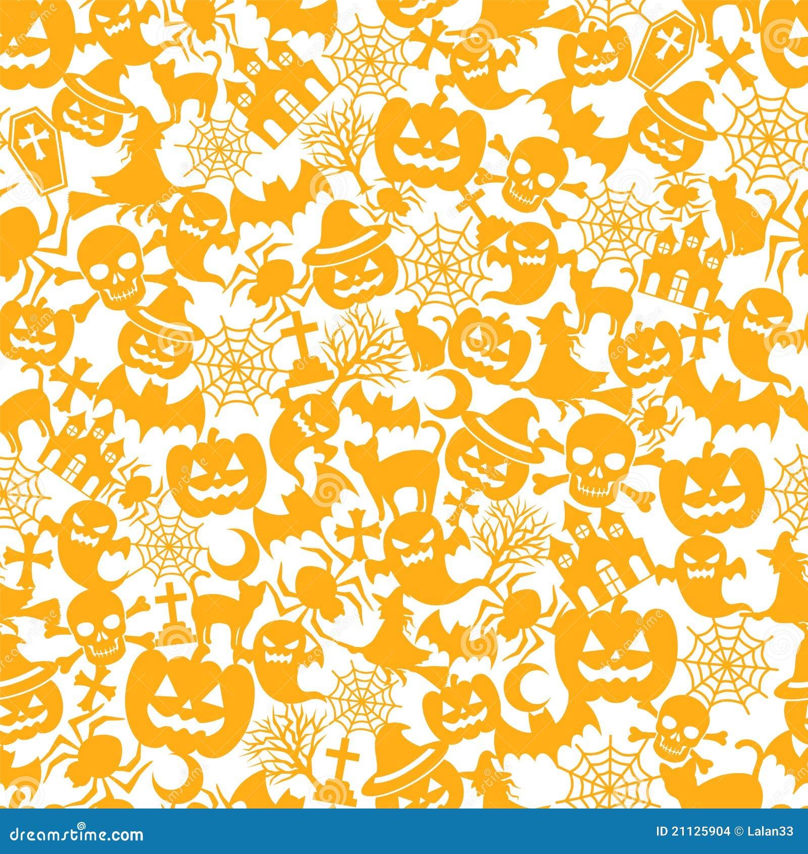 Halloween Orange Background Stock Images Image 21125904