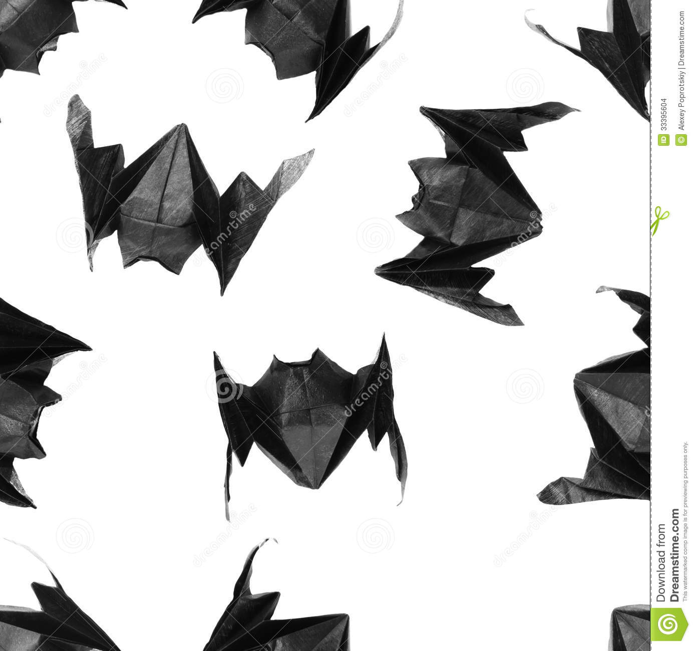 Halloween origami bats pattern stock photo image of shape halloween origami bats pattern jeuxipadfo Gallery