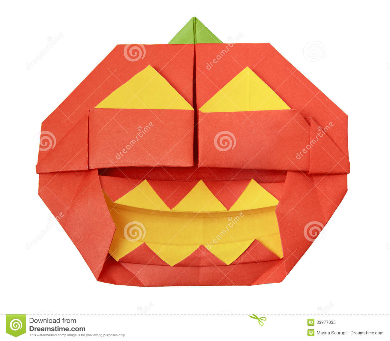 Halloween origami pumpkin stock image image of food 33977035 halloween origami pumpkin jeuxipadfo Gallery