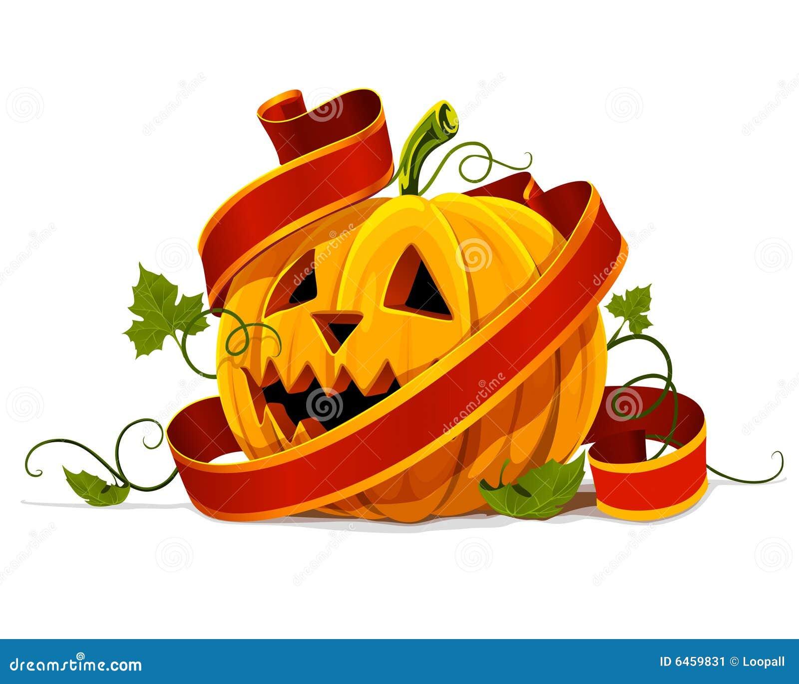 Halloween owocowy pojedynczy dyni warzyw wektor