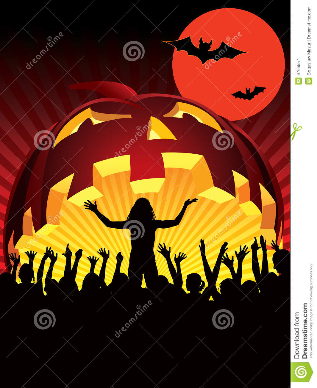 Halloween Party Royalty Free Stock Photography - Image: 6765557