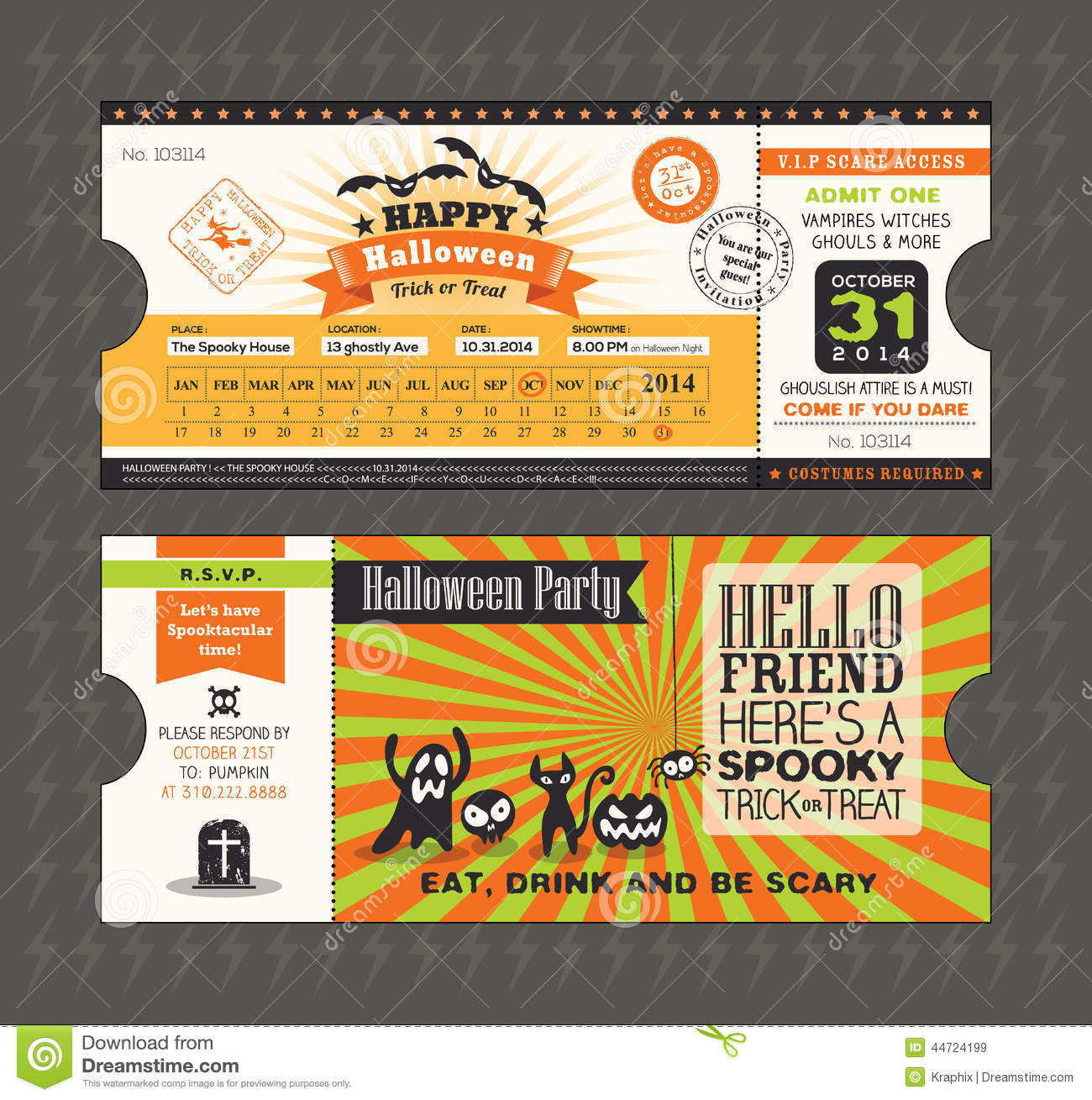 Halloween Party Invitation Text for awesome invitations design