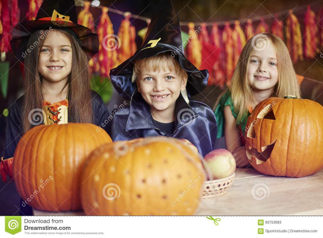 Halloween party stock photo image 60753683 for How to have a great halloween party