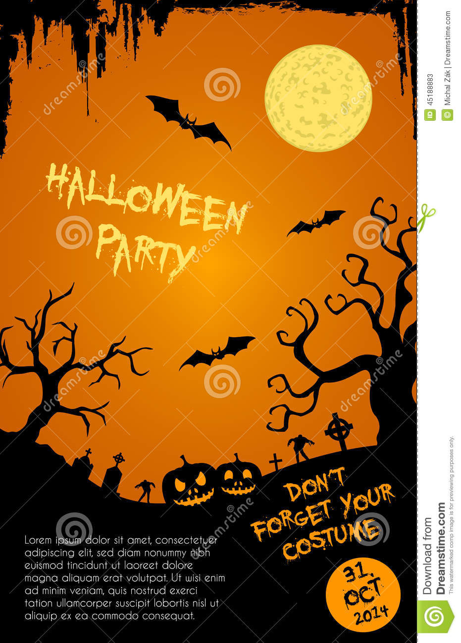 halloween dance flyer templates koni polycode co