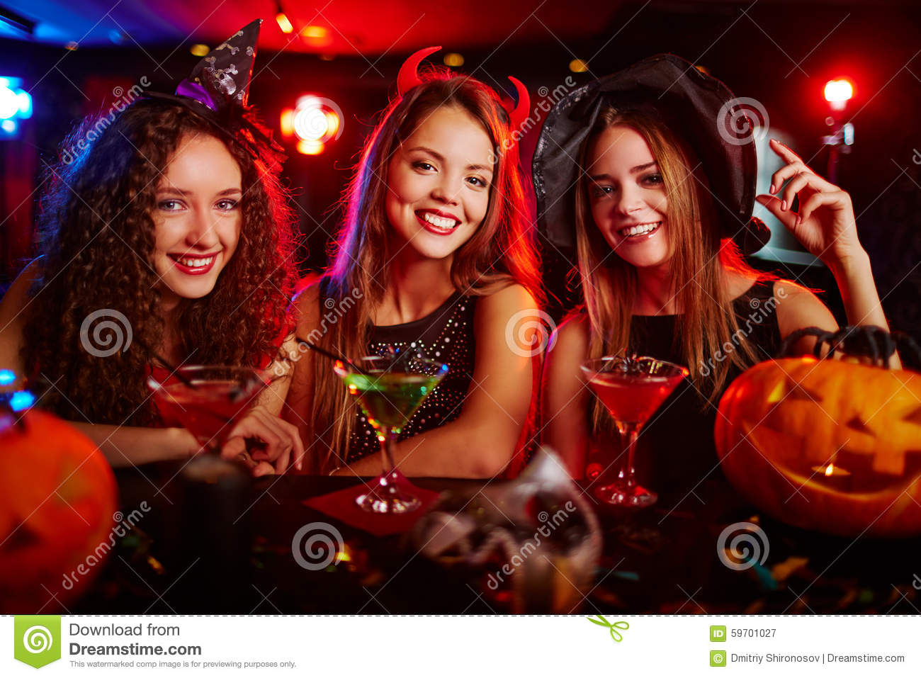 Halloween Party Stock Photo - Image: 59701027